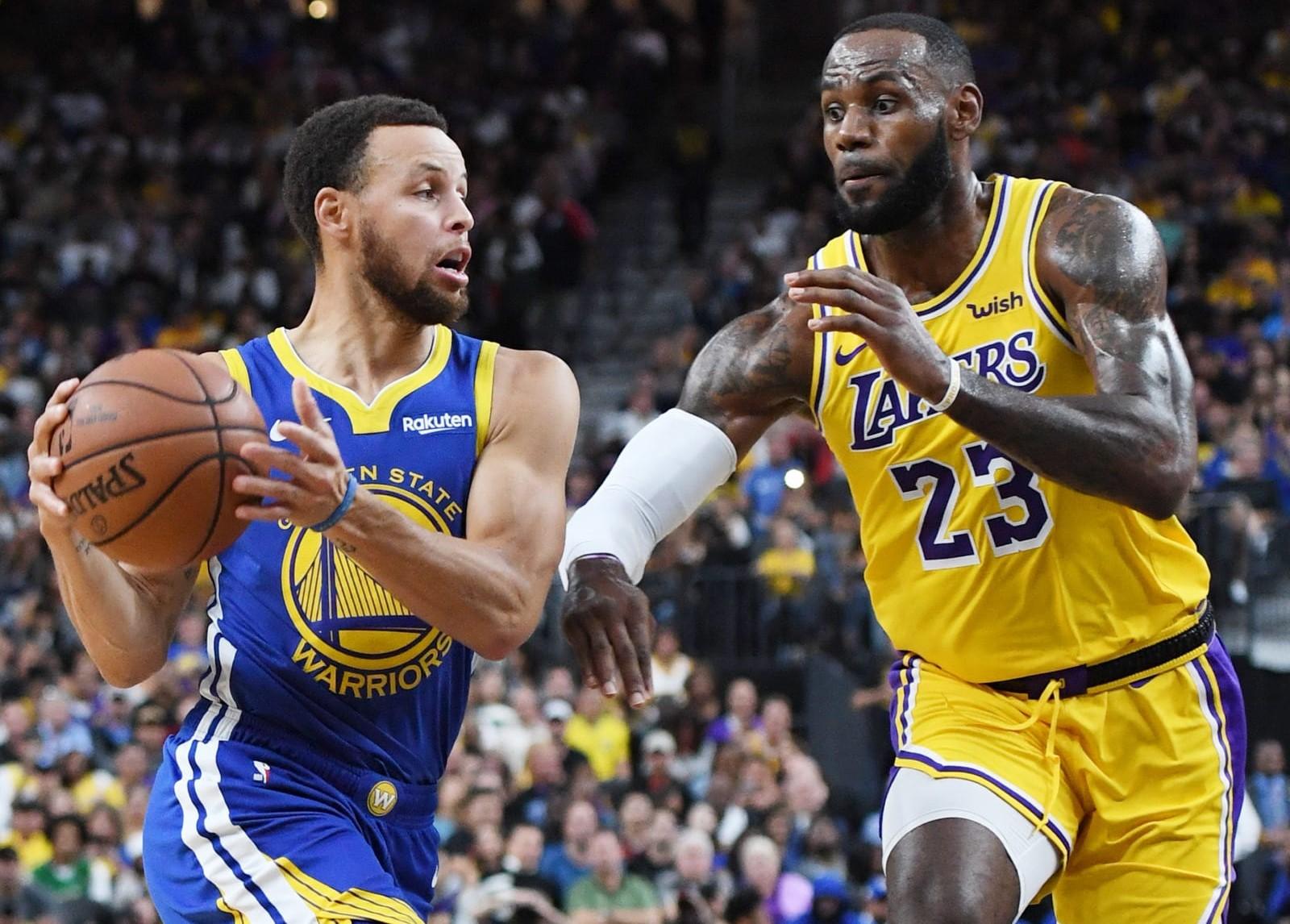 بسکتبال NBA / لس آنجلس لیکرز / گلدن استیت وریرز