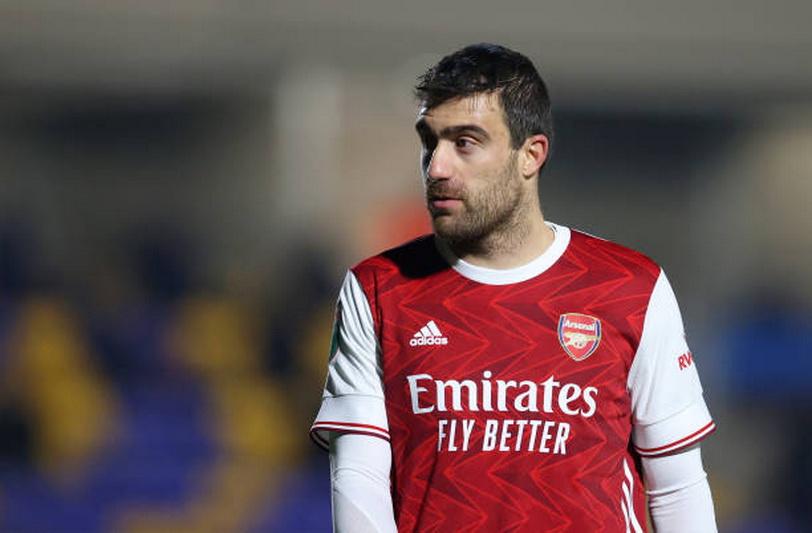 آرسنال/مدافع یونانی/Greek Defender/Arsenal