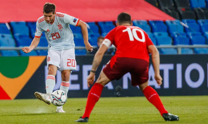 اسپانیا-لاروخا-لیگ ملت های اروپا-Spain-Nations League
