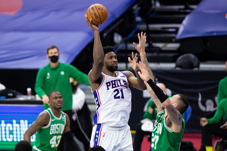 فیلادلفیا سونی سیکسرز - جوئل امبید - بسکتبال NBA - نتیجه مسابقات NBA