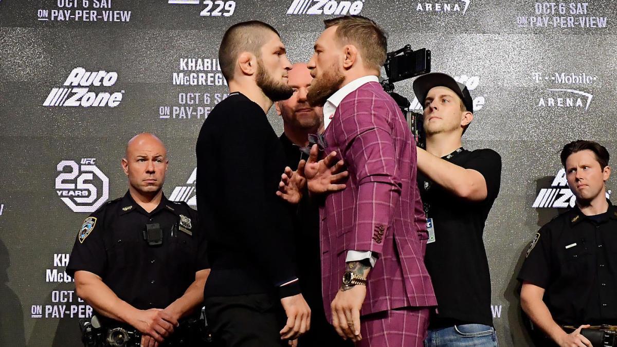 حبیب نورماگومدوف - کانر مگ گرگور - سازمان یو اف سی - مبارزات UFC