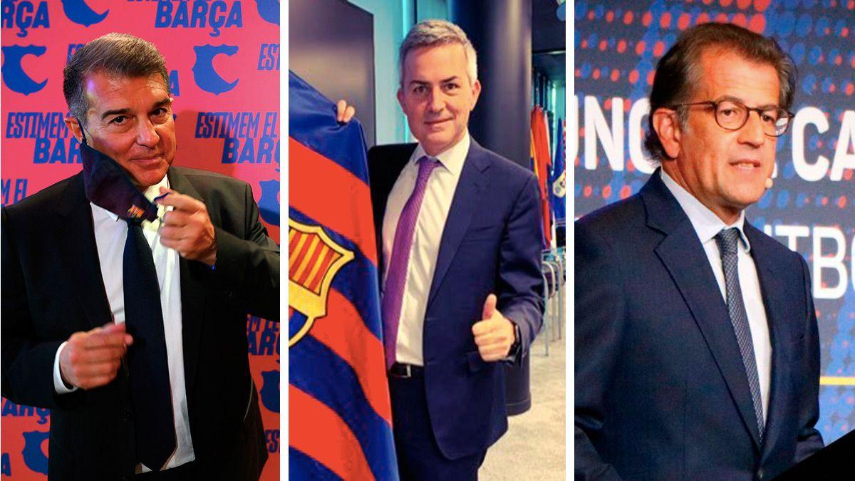 نامزدهای ریاست بارسلونا