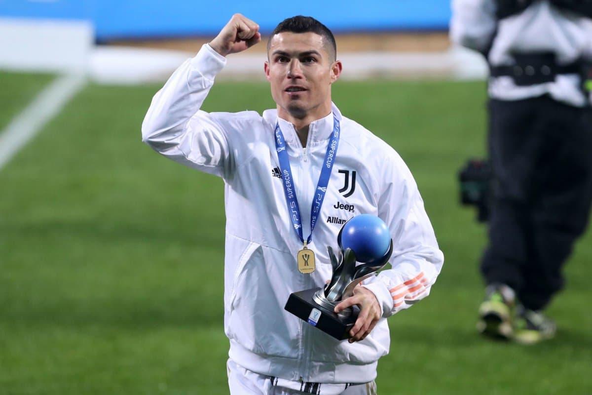 یوونتوس / بازی مقابل ناپولی / سوپرجام ایتالیا / جایزه بهترین بازیکن زمین / Juventus / Italian PS5 Supercup match