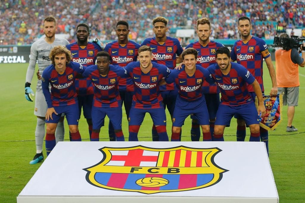 بارسلونا / لیگ قهرمانان اروپا / عکس تیمی / Barcelona / UEFA Champions League